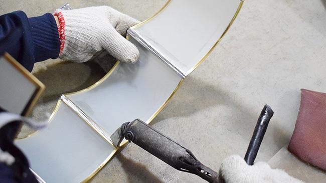 Sn38有铅锡条解决灯罩拼接出现焊锡不流畅影响生产效率的问题