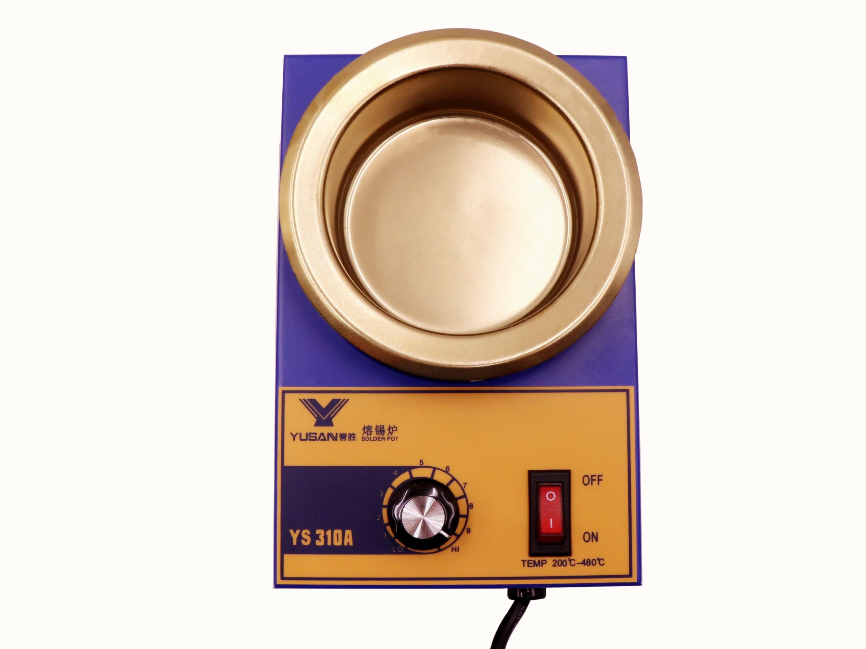 小型手浸圆形熔锡炉YS-310A